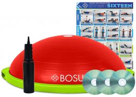BOSU balance trainer Build your own - červená_zelená